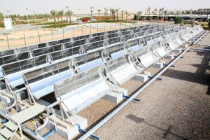 Sopogy and Masdar solar cooling