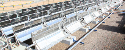 MicroCSP Solar Cooling at Masdar